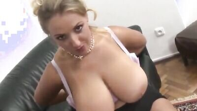My Busty Stepmom let me Cum in her Tight Pussy