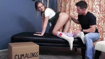 Girl Scout Impregnated by StepDad -summer Brooks **FULL VID** TABOO